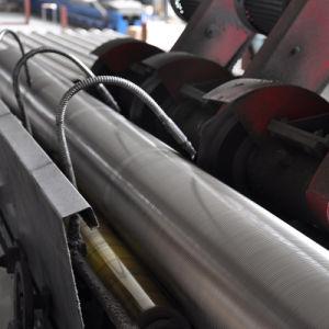 Edelstahl-Mikron-Johnson geschweißtes Keil-Draht-Bildschirm-Öl-Rohr