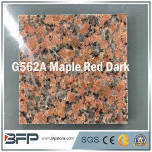 床の舗装のための自然な磨かれた赤い花こう岩または大理石の石造りの床タイル