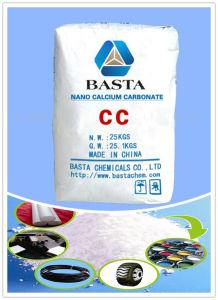 China polvo del relleno Industrial de carbonato de calcio precipitado CaCO3
