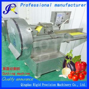 Electric automatique des aliments de la machine de coupe de légumes (acier inoxydable)