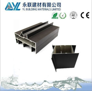 Perfil de Aluminio de Il Poder Recubrimiento Ventanas y la Puerta