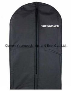 カスタム黒いプラスチックPEVAスーツの衣装袋