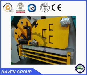 Hydraulische Eisen-Arbeitskraft-hydraulische kombinierte lochende und scherende Maschine mit der Einkerbung