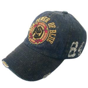 Venda a quente Boné Jeans lavados com Gjwdjs Logotipo13