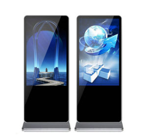 Sol intérieur 42 pouces Standingnetwork Media Video Ad player multimédia écran LED de signalisation numérique panneau LCD Commercialadvertising afficher