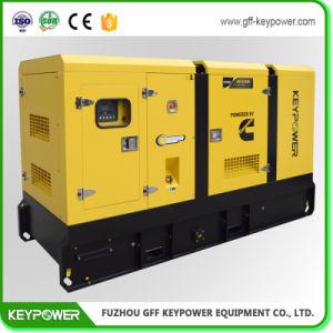110kVA insonorisées générateur diesel avec moteur diesel de puissance