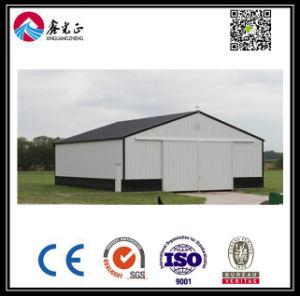 Сборные стальные конструкции склада (BYSS-1117)