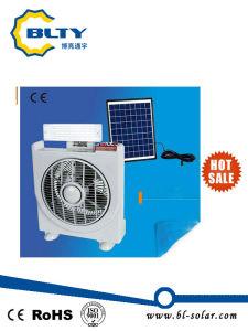 LED-beweglicher nachladbarer Solarventilator mit LED-Licht