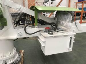13m 15m 17mのトレーラーの移動式くも具体的な置くブームアームディストリビューターは具体的なポンプを使用した