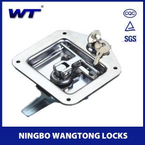 Pousser le loquet en acier inoxydable de serrure de porte de voiture W-05