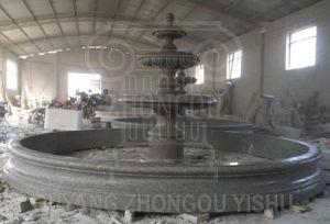 voor Fontein van het Water van de Tuin van de Verkoop de Marmeren, de Fontein van het Graniet