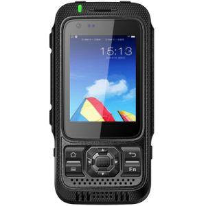 Sos van de Walkie-talkie van PTT 8MP 3600mAh 3G 4G Lte van de Kern van de Vierling Mtk6735 van Interphone IP67 Waterdichte Schokbestendige Androïde 5.1 Militaire Ruwe Telefoon Zello