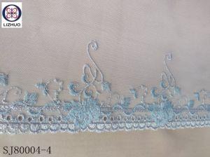 2018 Venta caliente de encaje bordado con un diseño simple de lenceria