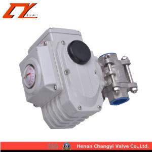 Dn50 Material de acero inoxidable de 2 pulgadas de válvula de bola de accionamiento eléctrico
