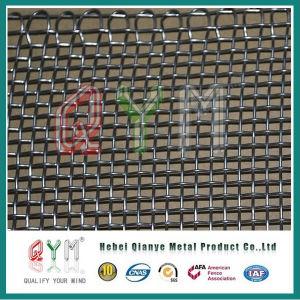 塀のパネルのための電流を通された鉄によってひだを付けられる金網の鉄の金網