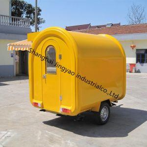 Kundenspezifische Produkt-elektrische mobile Nahrungsmittellebesmittelanschaffung-Karre