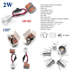 12V 24V 2W LED Birnen-Lampen-Cer RoHS 2 Watt Decken-Beleuchtung-