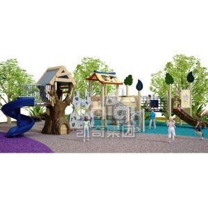 Новейшие игровая площадка, PE и ВКН в парк развлечений с помощью слайд из нержавеющей стали