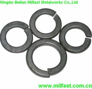La norme DIN 127 la rondelle élastique ondulée en acier inoxydable