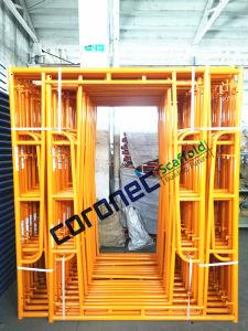 ANSI zugelassene Baumaterial-Aufbau-Qualität pulverisieren überzogenes Maurer-Rahmen-Baugerüst mit schnellem Verschluss (CSMFFL)