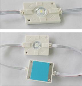 UL 3W aprobado 160° Módulo de la luz LED de la señalización del poder más elevado de la lente con la lente para Lightbox