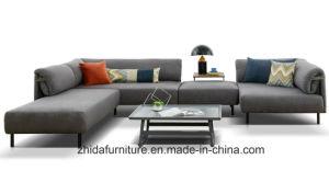 Европейский поощрения Big L форма вид в разрезе ткань диван