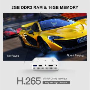 Androides bewegliches Pico 4K Projektor-UnterstützungsWiFi 1080P HD intelligentes MultifunktionsHeimkino