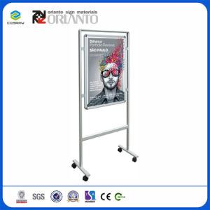 Affichage de publicité du système d'aluminium réservoir d'eau Poster SNAP Frame