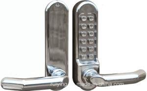Fechaduras de portas inteligente sem bateria Prateada Digital