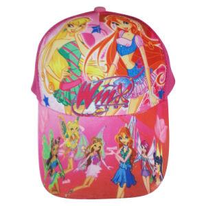Moda Boné de crianças com bordados Knw24