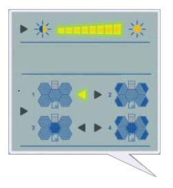 Sala cirúrgica Use Shadowless Lâmpada de funcionamento com o Monitor TV