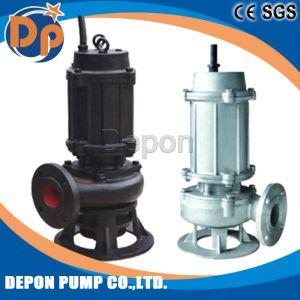 Non-Clog centrífugo de aguas residuales bomba sumergible de Aguas Residuales (WQ)