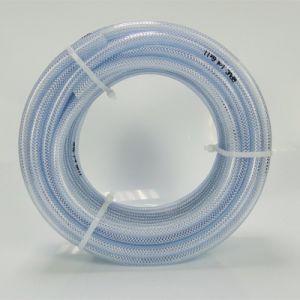 適用範囲が広いPVC透過編みこみの補強されたホースのポリエステル線維編まれた補強されたPVCホース