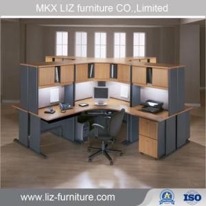 Muebles de oficina oficina modular de madera de estaciones de trabajo de escritorio ejecutivo (2216)