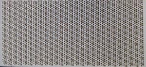 Plaque céramique Honeycomb infrarouge de catalyseur pour le brûleur