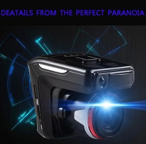 Radar Detector Car DVR Camera Full HD Car Dvrs mit E-Dog G-Sensor 3 Functions in 1 Russland oder in englischem Version