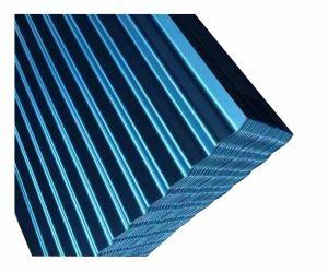 Ral5020 schilderde de Kleur het Gegalvaniseerde Blad van het Dakwerk van het Metaal