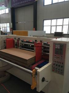 De nieuwe Automatische Snelheid Flexo die Printting van het Type de Machine van de Snijder van de Matrijs inlassen