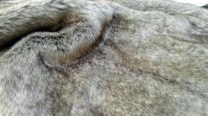 외투를 위한 새로운 뜨개질을 한 긴 더미 직물 가짜 모피 가짜 모피 인공 모피 또는 모자 또는 의복