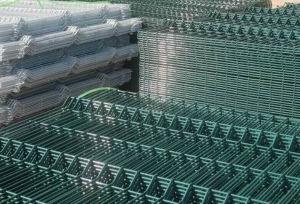 Kurbelgehäuse-Belüftung galvanisierter geschweißtes Ineinander greifen-Zaun für Garten und Haus