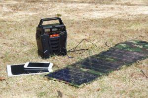 100W 278whの太陽エネルギー端末の携帯用太陽発電機の車かキャンプ