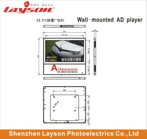 Lecteur de publicité multimédia 43 pouces ultra fin TFT LCD réseau WiFi d'affichage HD Digital Signage passager l'écran de l'élévateur