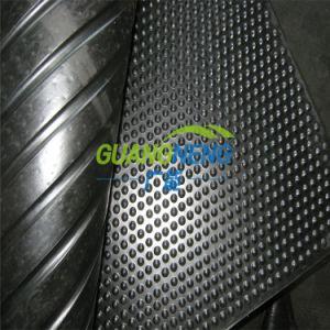 I nero stabile di gomma 6FT x 4FT x 17mm delle stuoie del pavimento del cavallo della stuoia