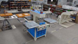 Full-Automatic neumática máquina de estampado de prendas de vestir