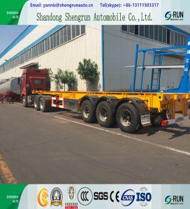 20 /40FT-skelettartiger LKW-Schlussteil/Behälter-halb Schlussteil für Verkauf