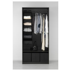 أثاث لازم متأخّر خشبيّة بسيطة غرفة نوم خزانة ثوب
