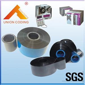(55PCS/caja) de 33mm*450m Negro Inkoutside Cera/Resina Markem tipo cinta en Tto Markem Impresora Impresora Smartdate