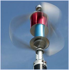 generatore verticale del mulino a vento di asse di 1kw Maglev