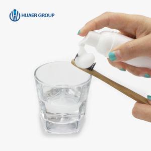 泡の歯磨き粉を白くする歯をきれいにし及び白くする