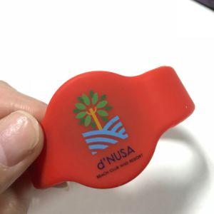 À prova de água MIFARE Classic EV1 1K bracelete de silicone de RFID